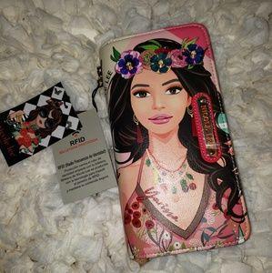 Nicole Lee RFID Wallet- Yarissa
